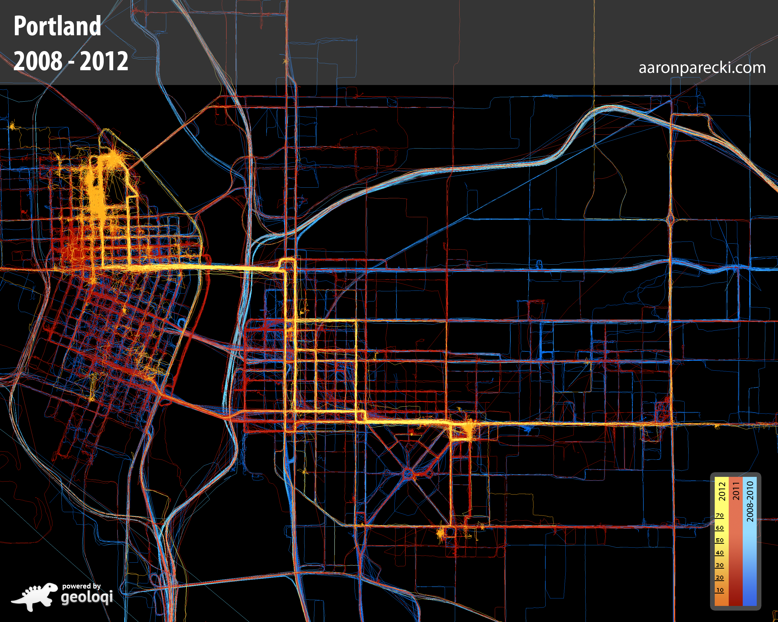 GPS Archives Quantified Self - Chicago map gps